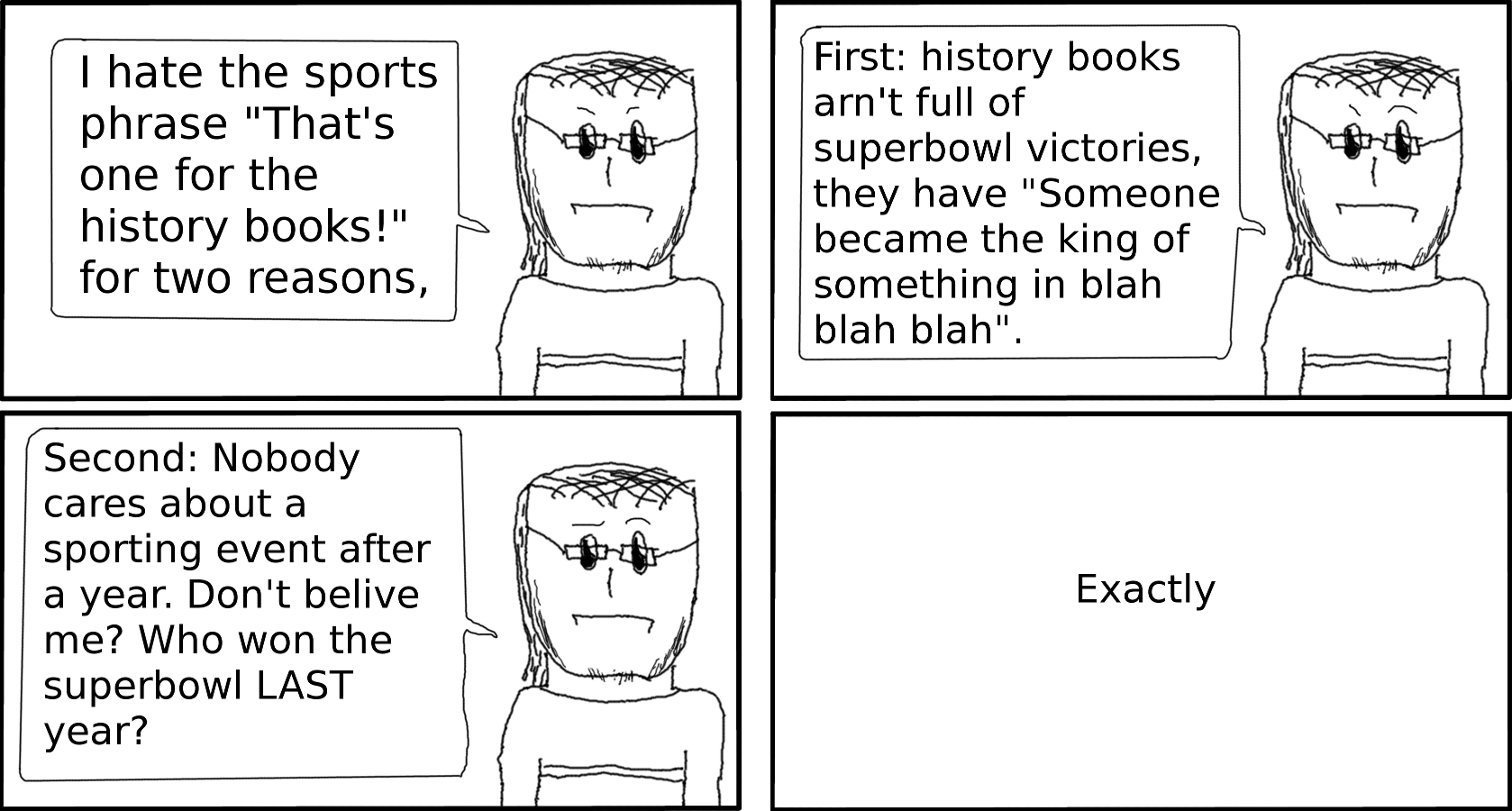 This is a comic for the history books!